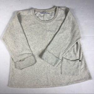 Hugs Soft Surroundings fleece pullover